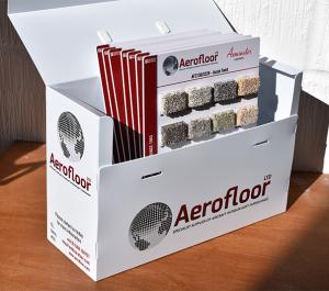 Axminster Carpet Sample Boxes