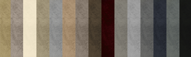 All colours of Sheepskins